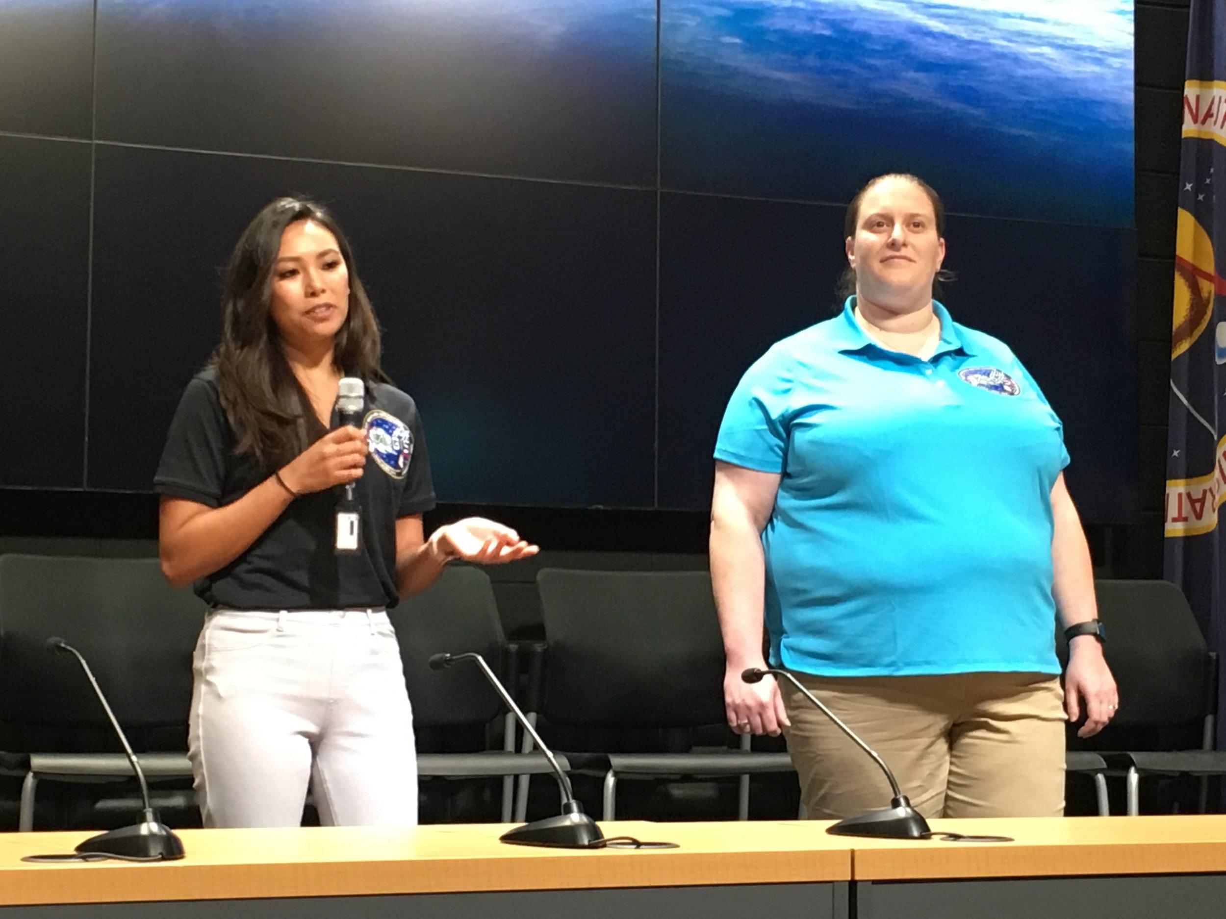Nina Nishiyama and Trisha Rettig, RR-12, Loma Linda University.