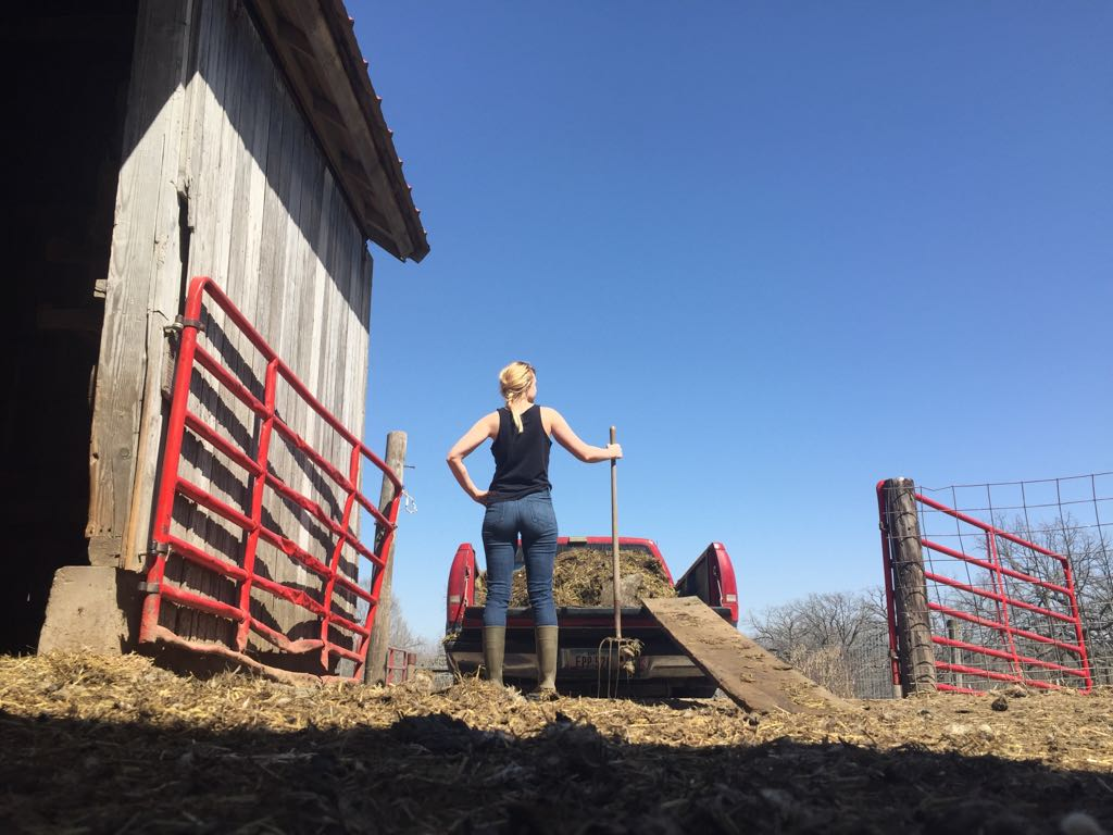 Made in Iowa - Aningri jewelry is designed and made by Anna Anderson on a sheep farm in the Upper Mississippi River Valley, where glacier-formed hills and valleys stretch far and wide alongside wide open fields of lush, fertile farmland.