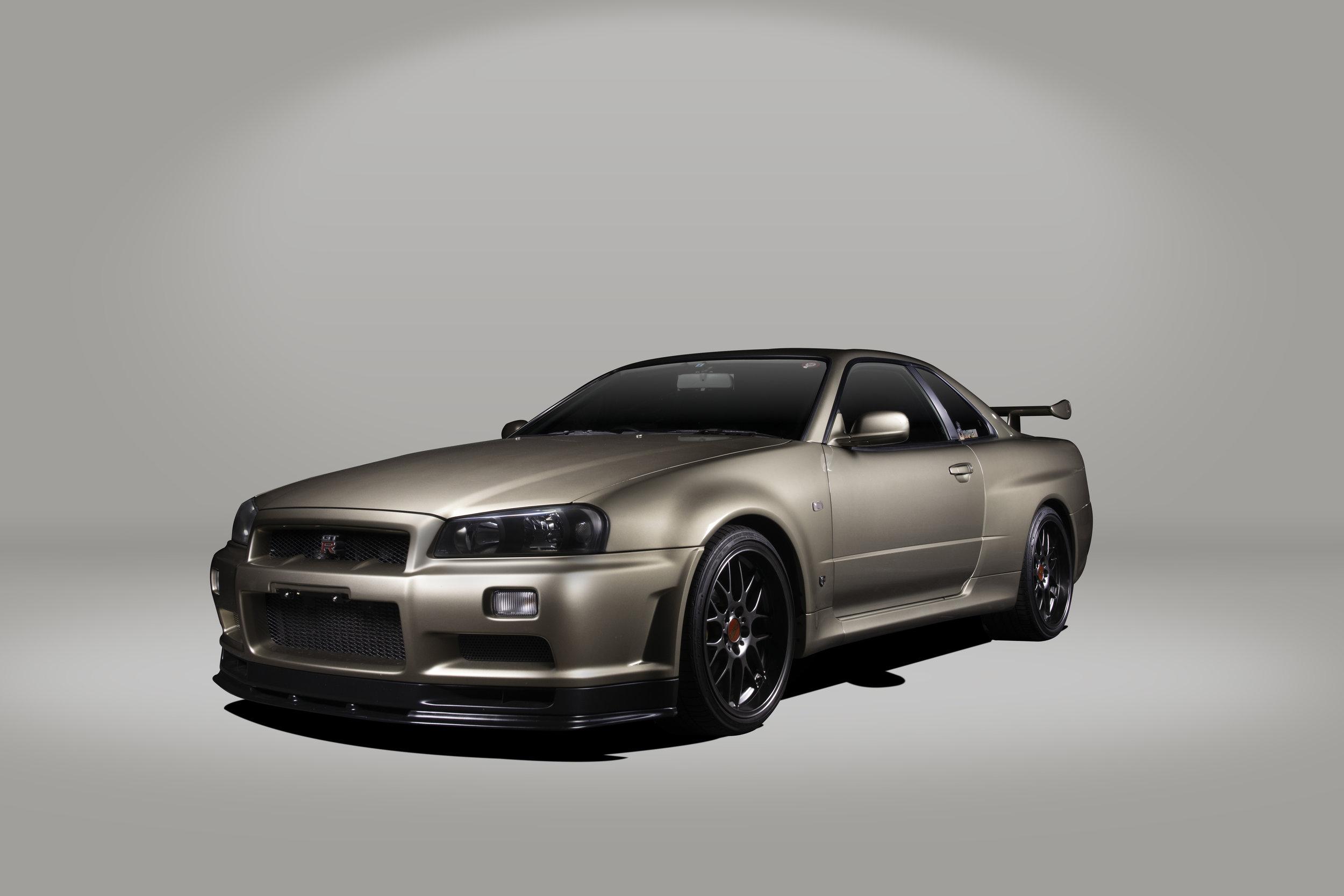 2001 R34 GTR M-Spec