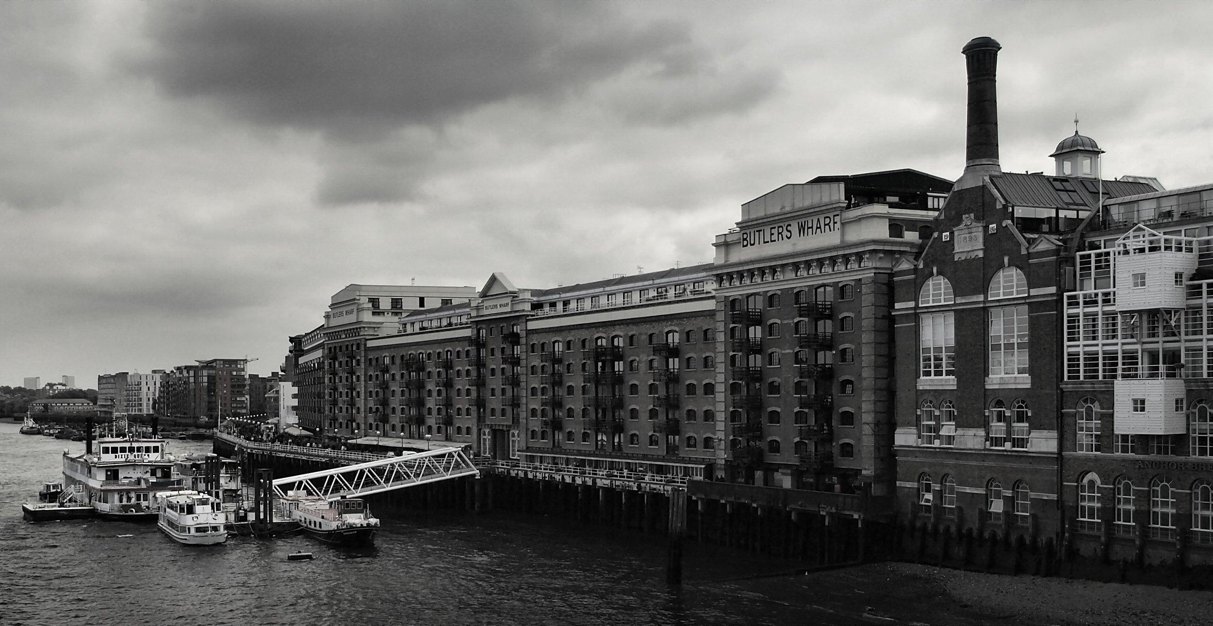 Butler's Wharf, Central London