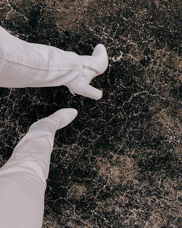 Chalk on white