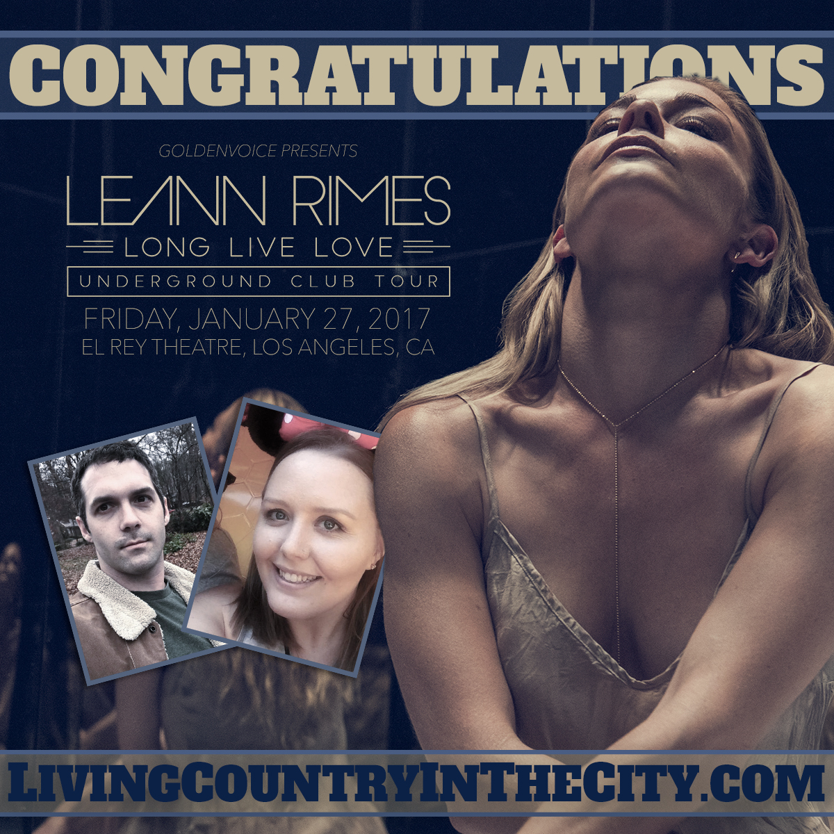 Win Tickets to LeAnn Rimes