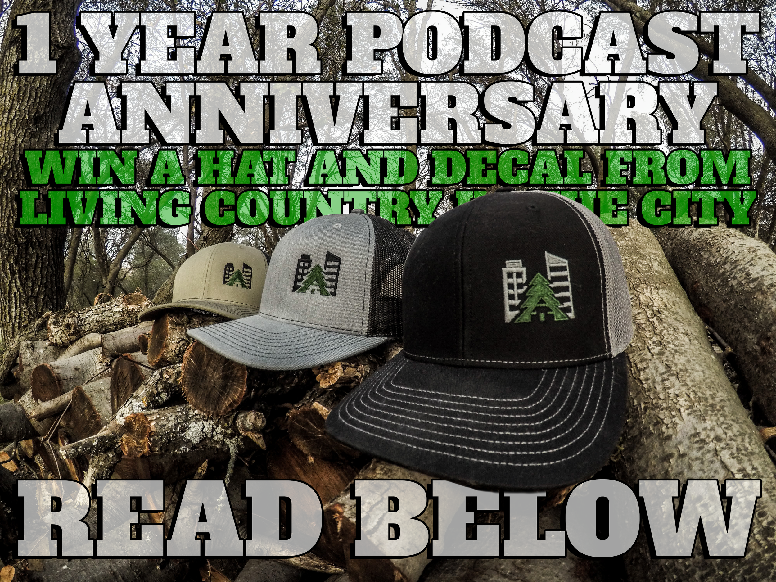 1 Year Podcast Anniversary Hat Giveaway