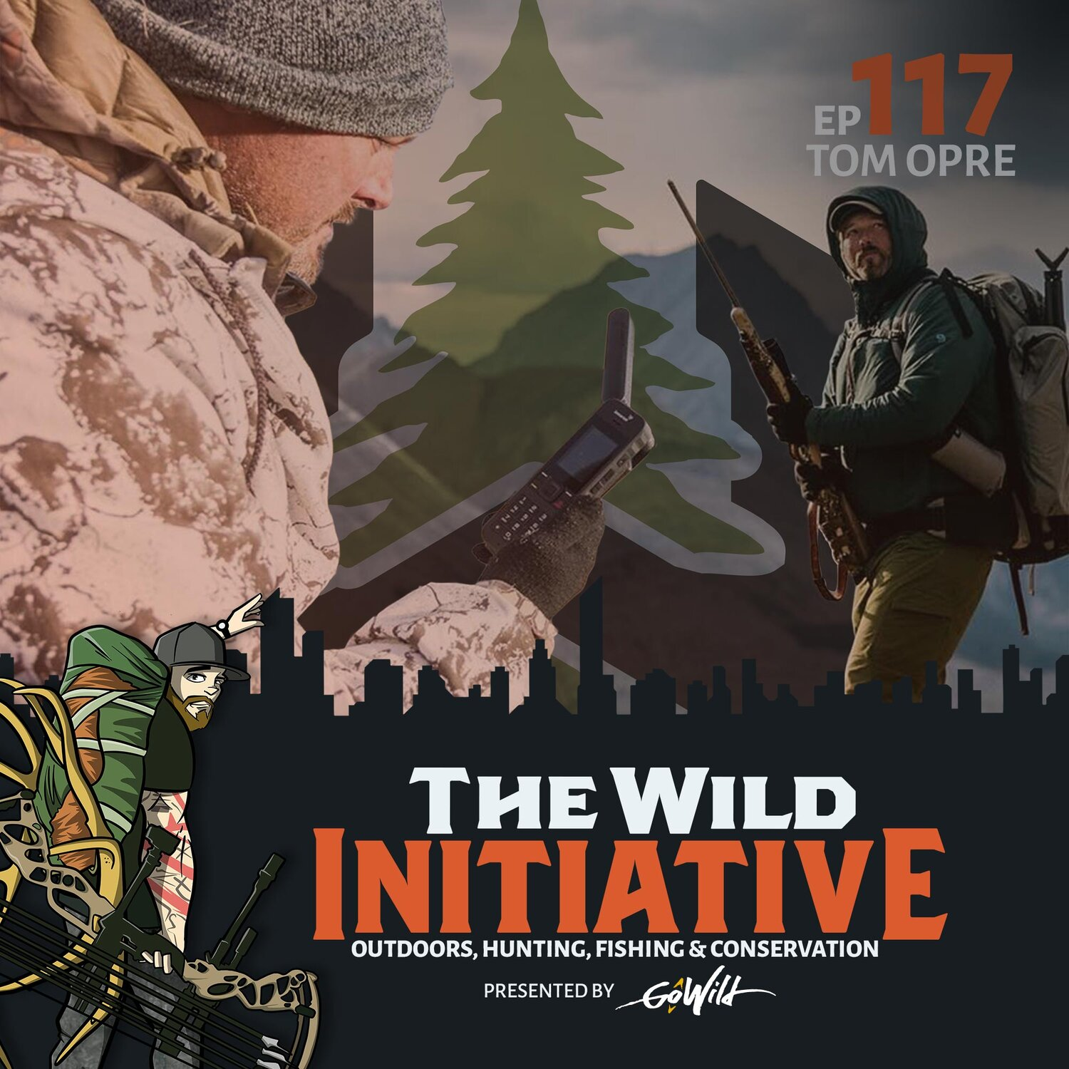 Ep 117 Tom Opre - The Wild Initiative - Outdoors, Hunting, Fishing & Conservation - Presented by GoWild