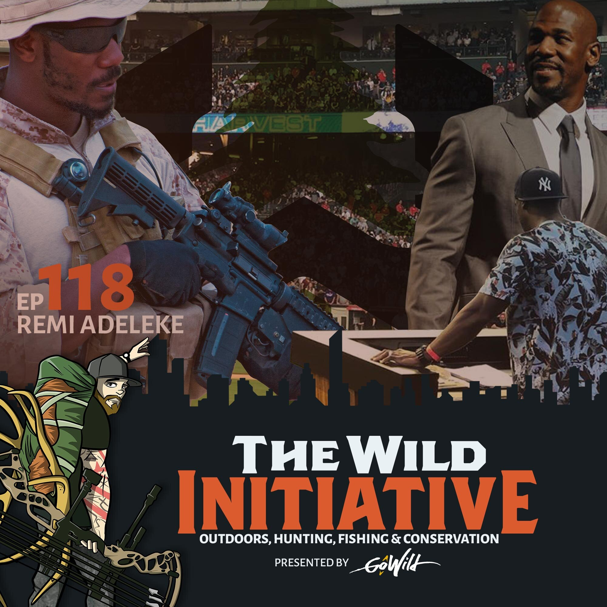 Ep 118 - Remi Adeleke | The Wild Initiative - Outdoors, Hunting Fishing & Conservation - Presented by GoWild