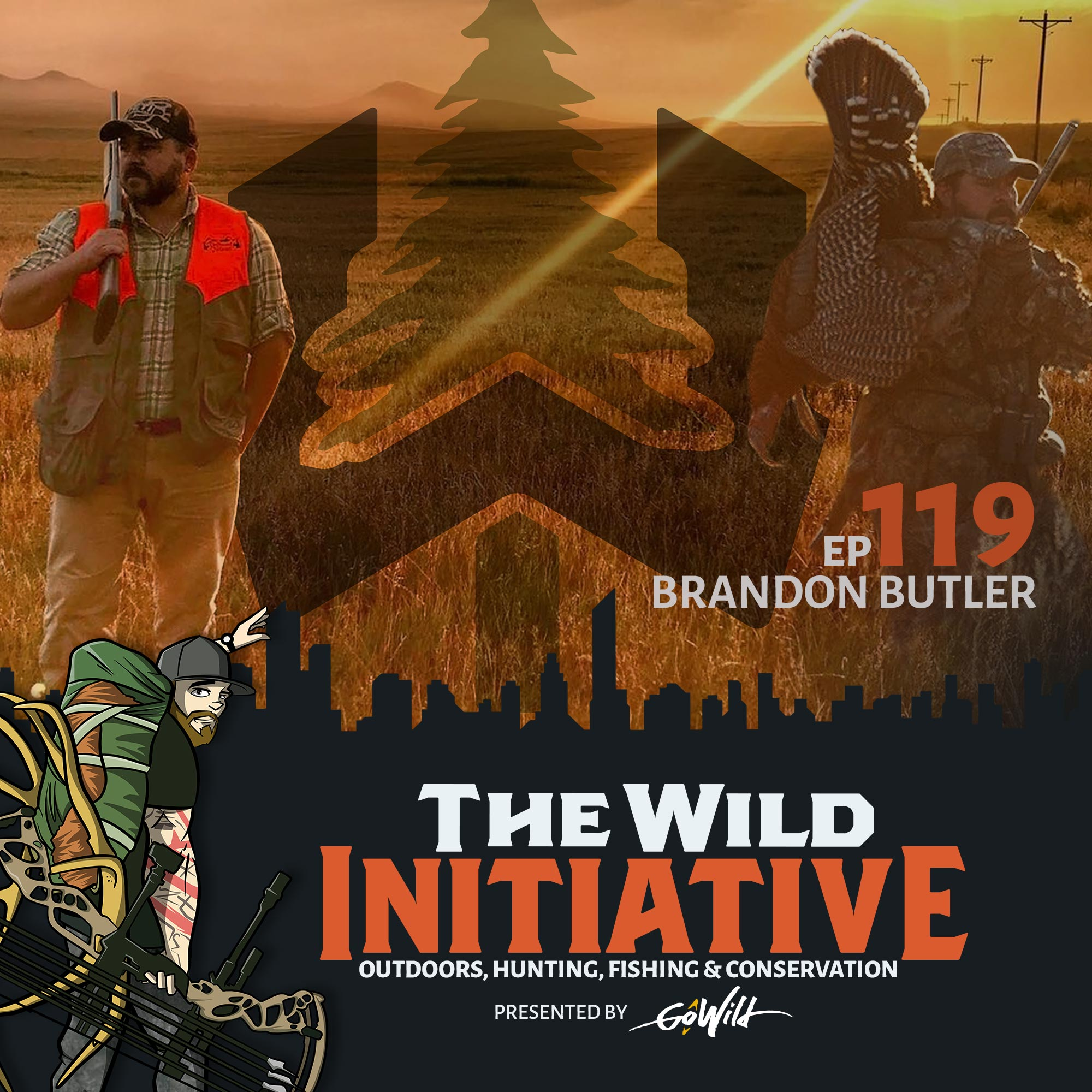 Ep 119 Brandon Butler - The Wild Initiative - Outdoors, Hunting, Fishing & Conservation