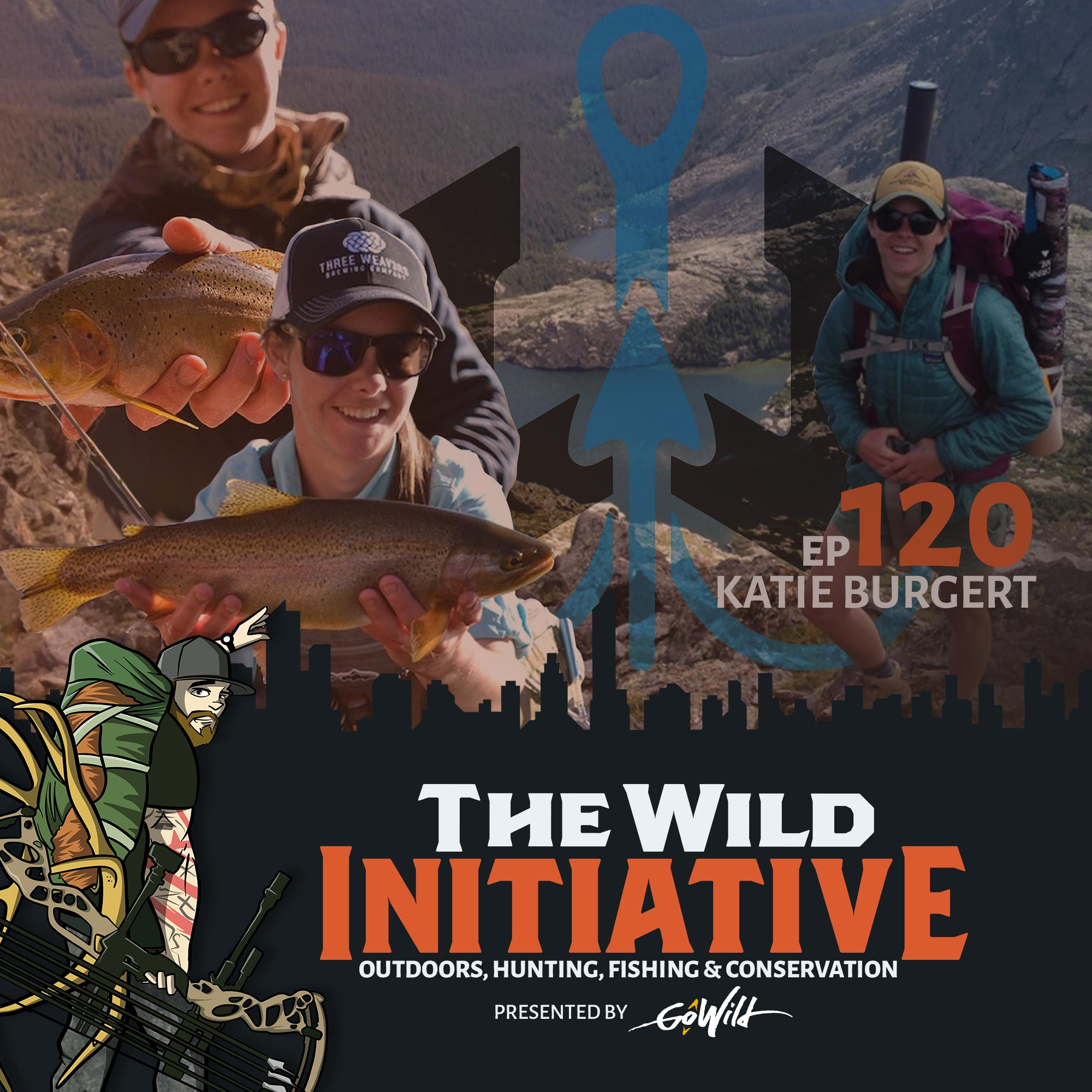 Ep 120 Katie Burgert - The Wild Initiative - Outdoors, Hunting, Fishing & Conservation