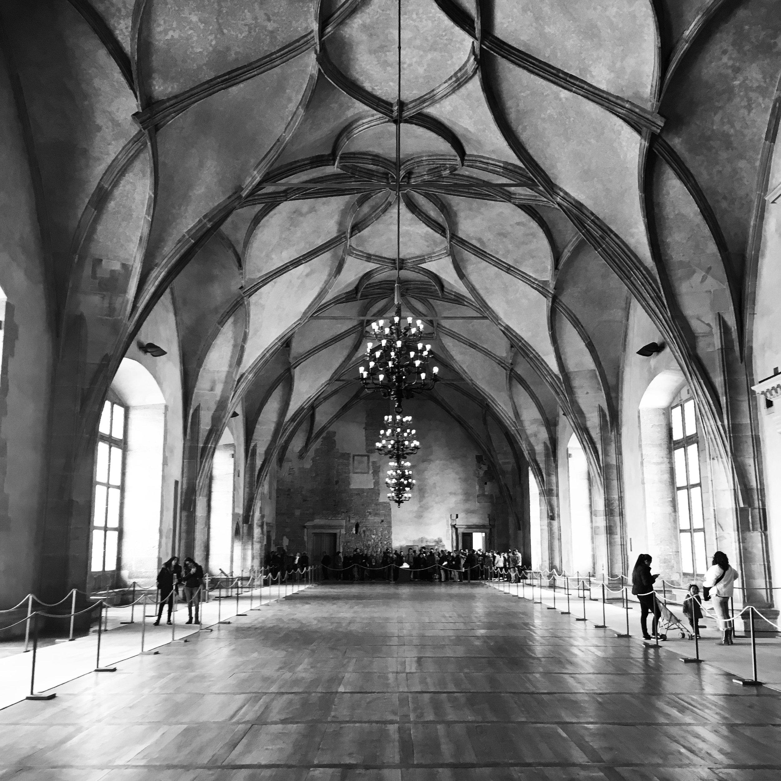 Prague_Vladislav Hall-Prague Castle2.JPG