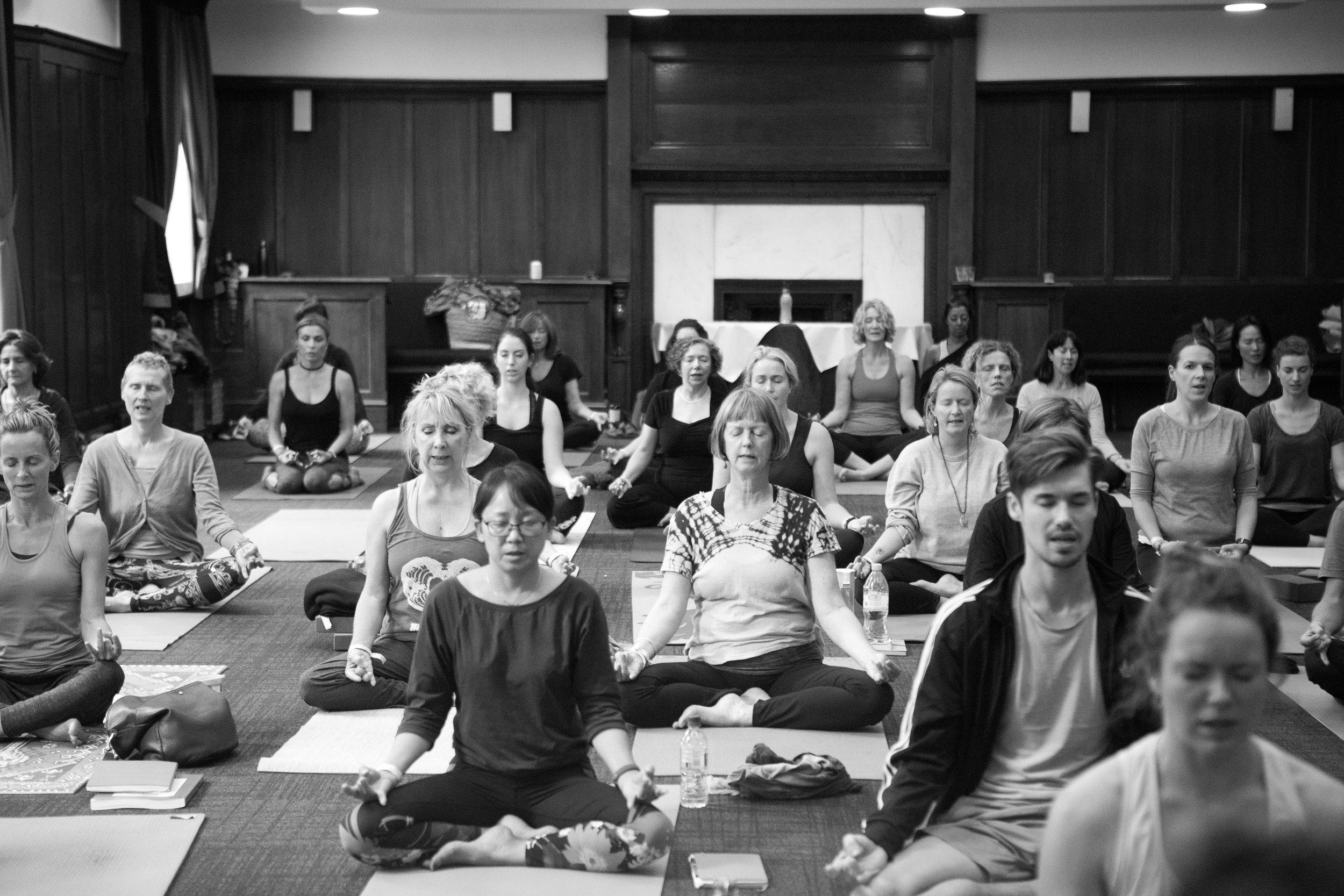 MASTERCLASSES - Practical masterclasses from Asana, Meditation, Chanting and Pranayama to Bodywork, TRE and Anatomy.