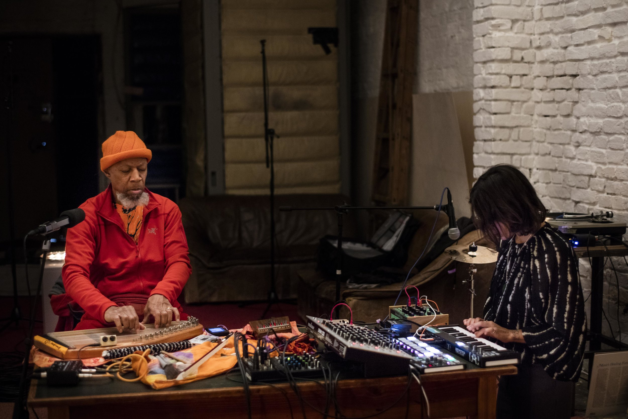 Sounding A New Age with the musician Laraaji.
