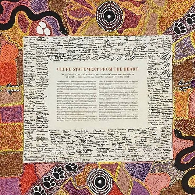"The #ulurustatement calls for a referendum to embed a ""representative body"" in the Constitution giving Aboriginal and Torres Strait Islander people ""a voice to the Commonwealth Parliament"". From the heart, we say yes. ... ... #indigenousrights #uluru #aboriginalland #alwayswasalwayswillbe #terranullius #dadirri #kenwyattmp #firstpeople #treaty #reconciliationweek #reconciliation #thetimeisnow #sorryday #yes #aboriginalaustralia #aboriginalculture #gracepapers #aboriginalleadership"