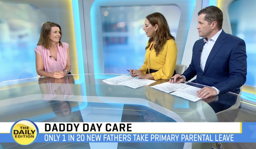 Finland is giving mums and dads the same parental leave, and Australia is trailing behind. Our CEO joined The Daily Edition to talk all things parental leave, and what needs to change to drive gender equality.
