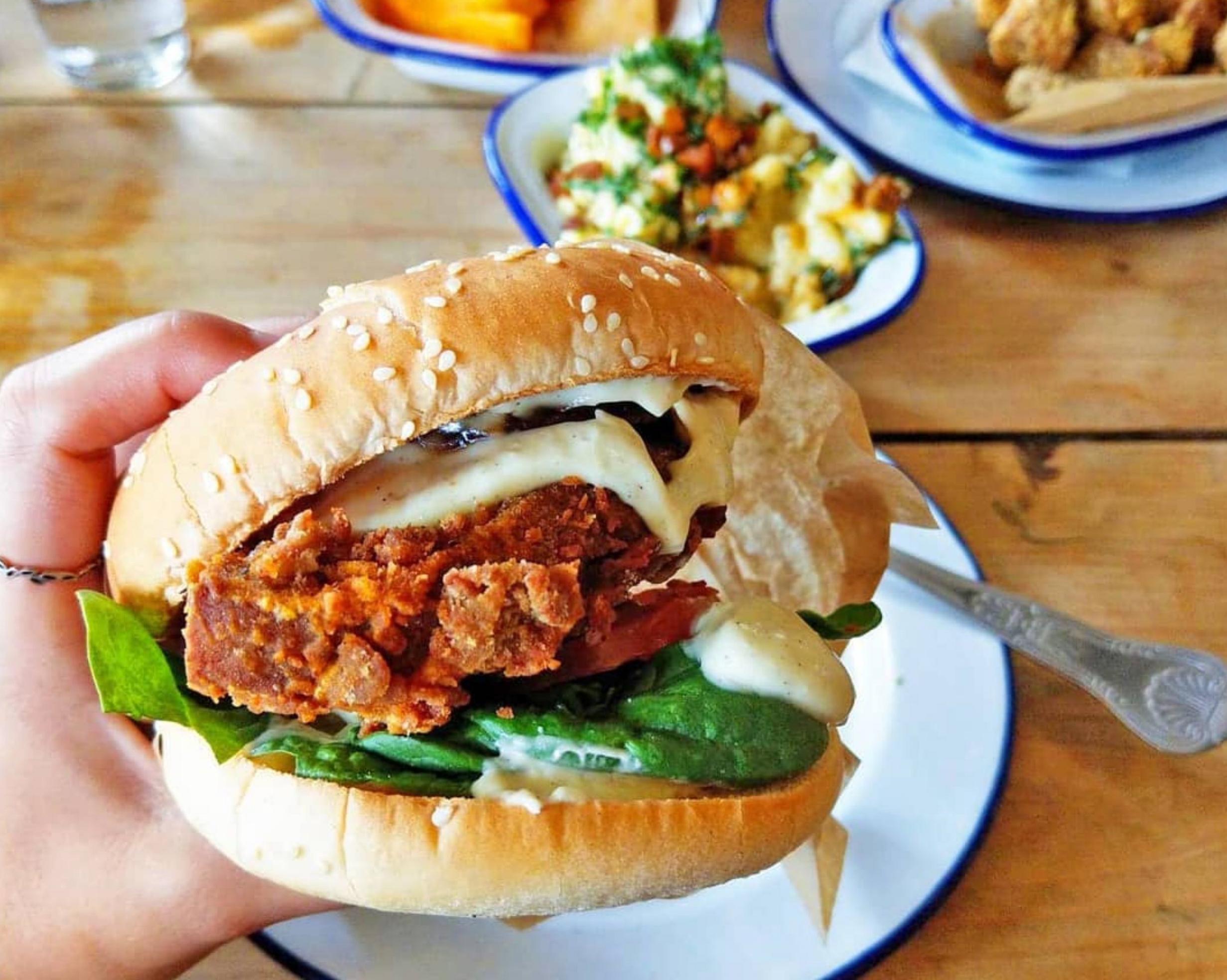 chickenish burger main menu