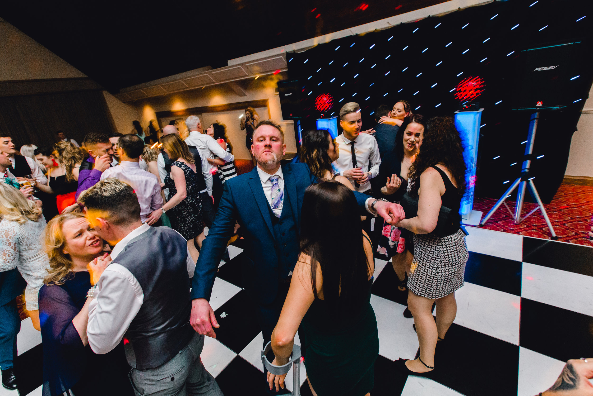 Dance floor photo at cedar court hotel huddersfield