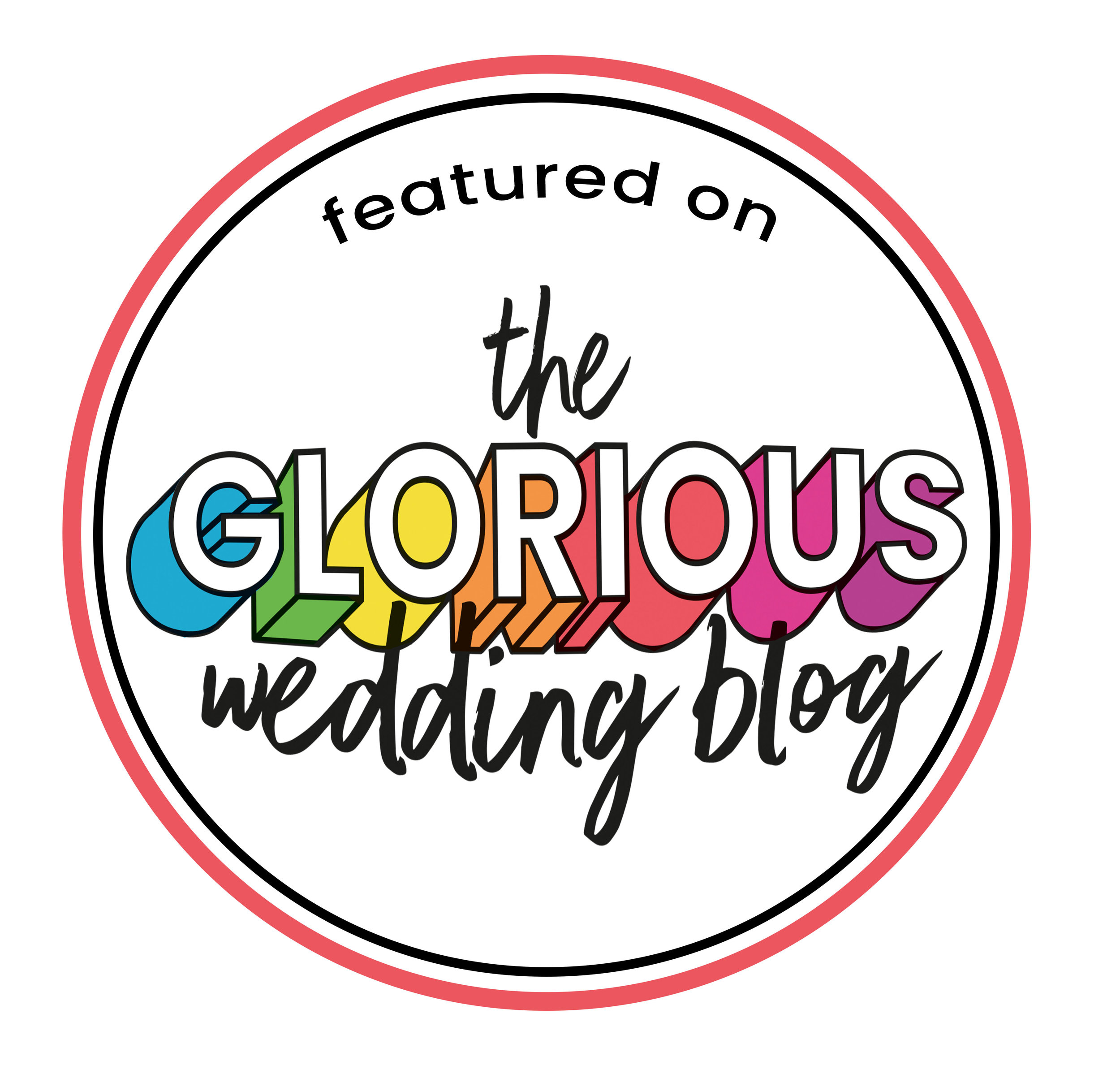 Featured on the Glorious Wedding Blog - Kieran Bellis Photography