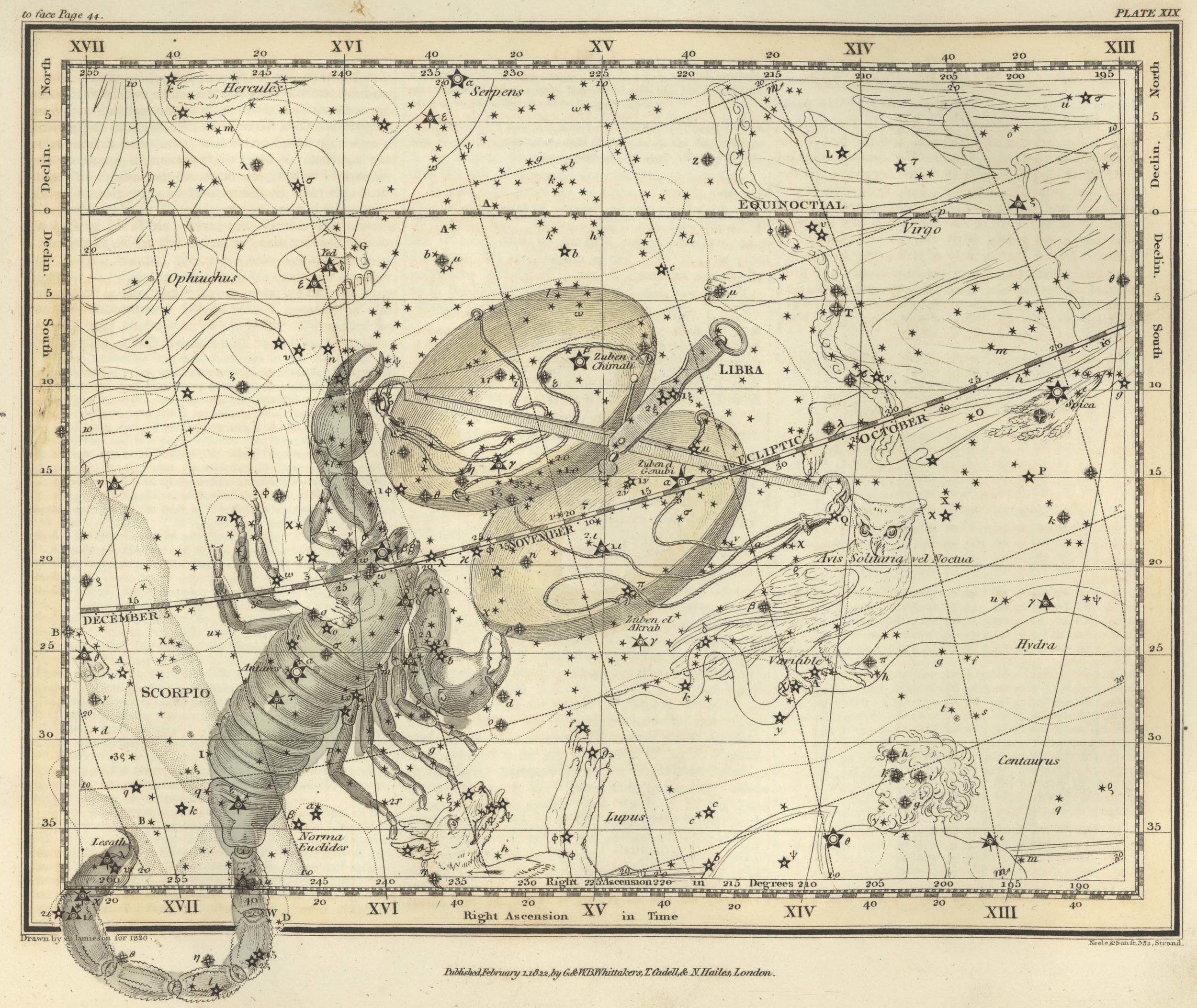 The   Celestial Atlas   of   Flamsteed   (1795)