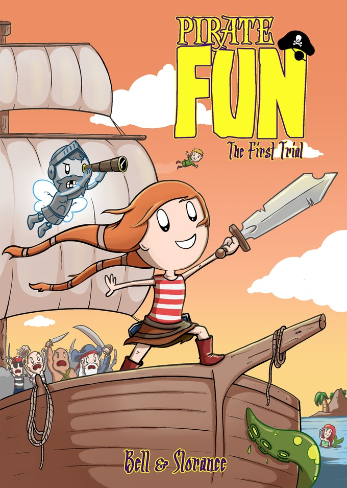 2018 WINNER:  Pirate Fun #1 by Colin Bell and Neil Slorance