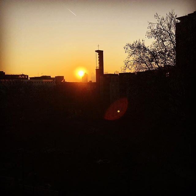 sunrise over whitechapel