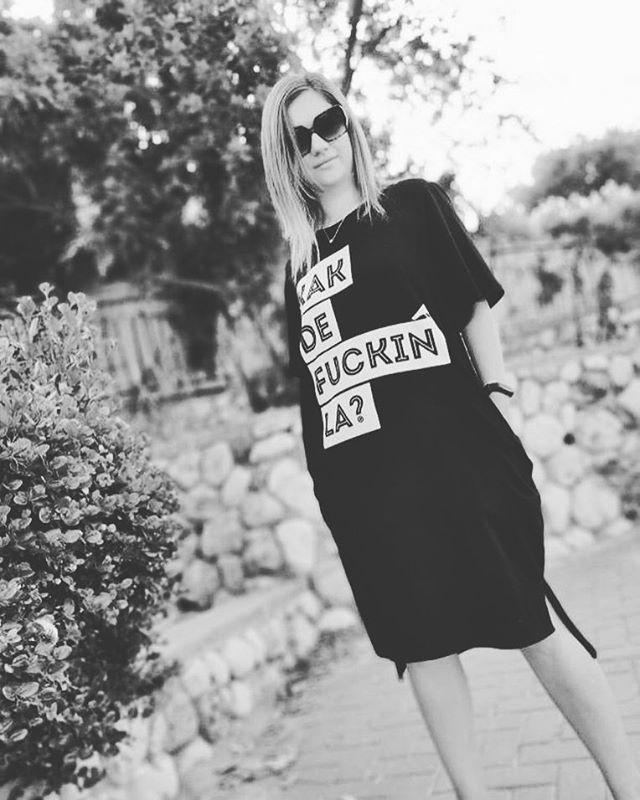 That's one bad ass look @nliman ⌿ ⌿ ⍁ ⍙ #unselfc #kakdela #kakdefuckinla #dress #ootd
