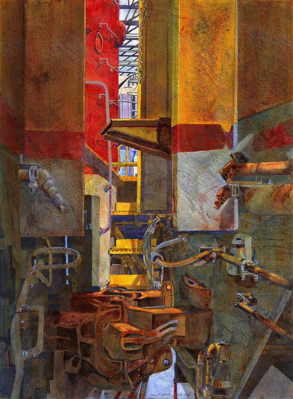 The Space Between   2016 Morris Shubin Memorial Award  American Watercolor Society New York, New York