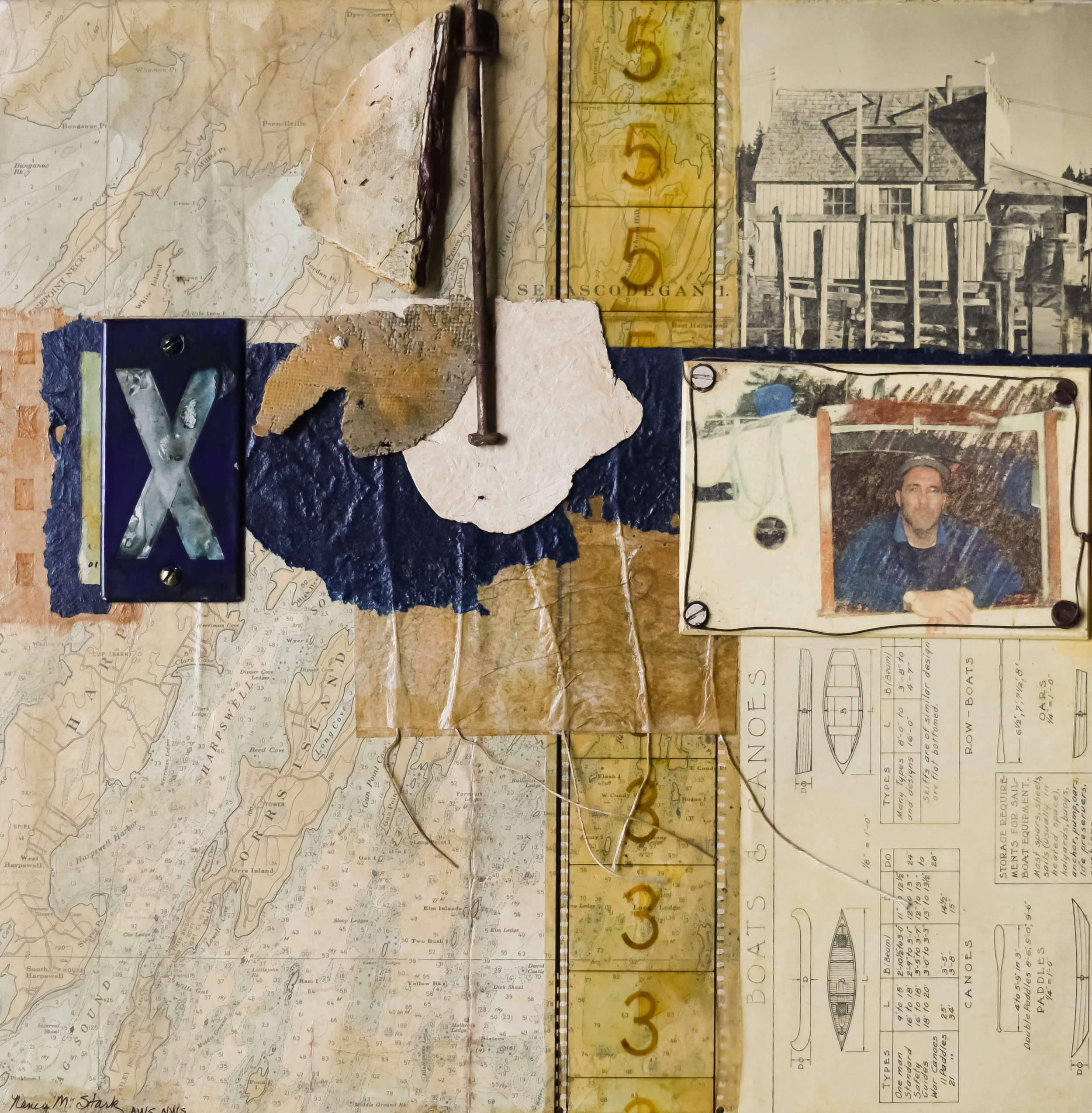 Come Sail Away   2017 First Place Mixed Media  Expressions, Piedmont Art Center Martinsville, Virginia