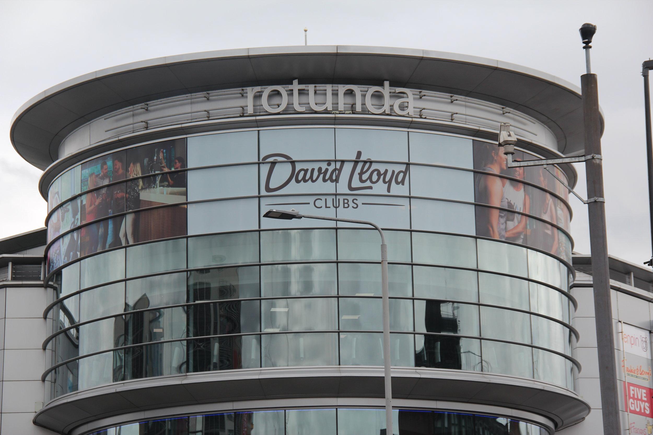David Lloyd Gyms   Rebrand - Key Supplier - Capex