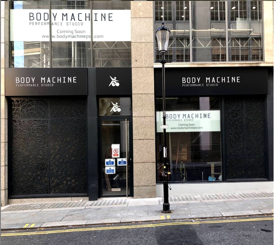 Body Machine Performance Studio   New Build - Fit out