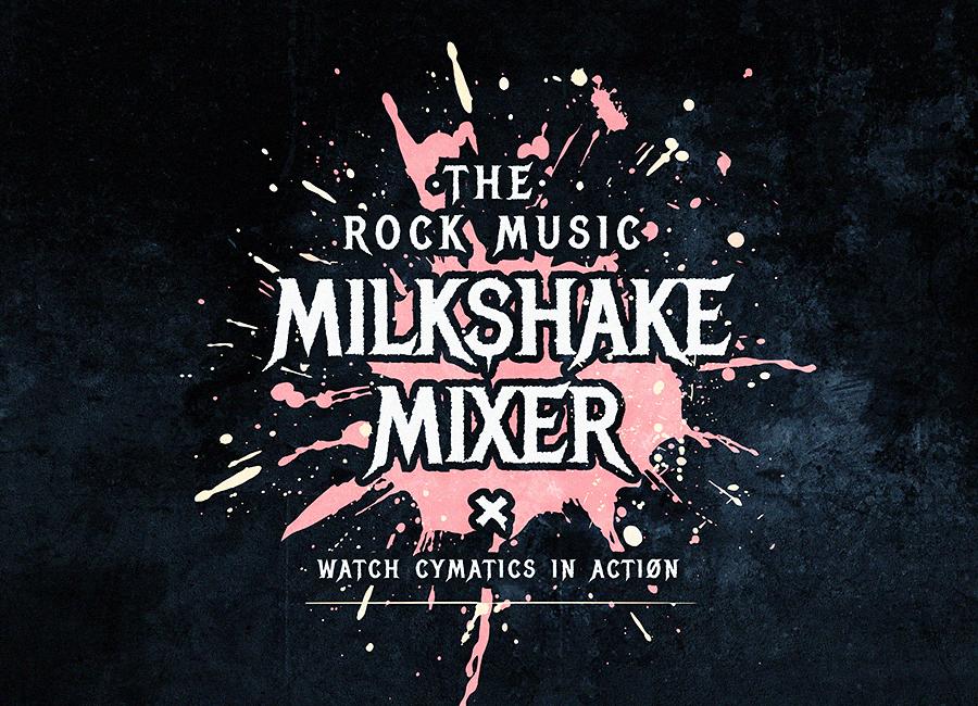 - THE BIG BANG FAIRMilkshake MixerPOP-UP IDENTITY