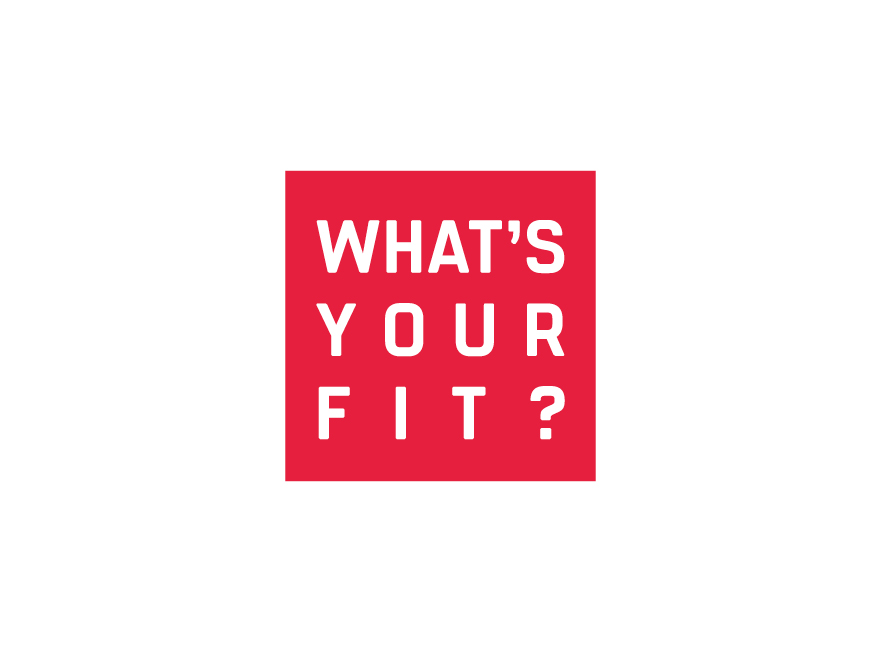 - FUSIONWhat's Your Fit?BRAND IDENTITY