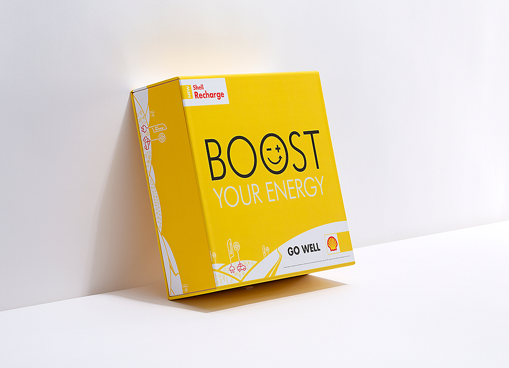 - SHELL RECHARGEBoost Your EnergyBOXES