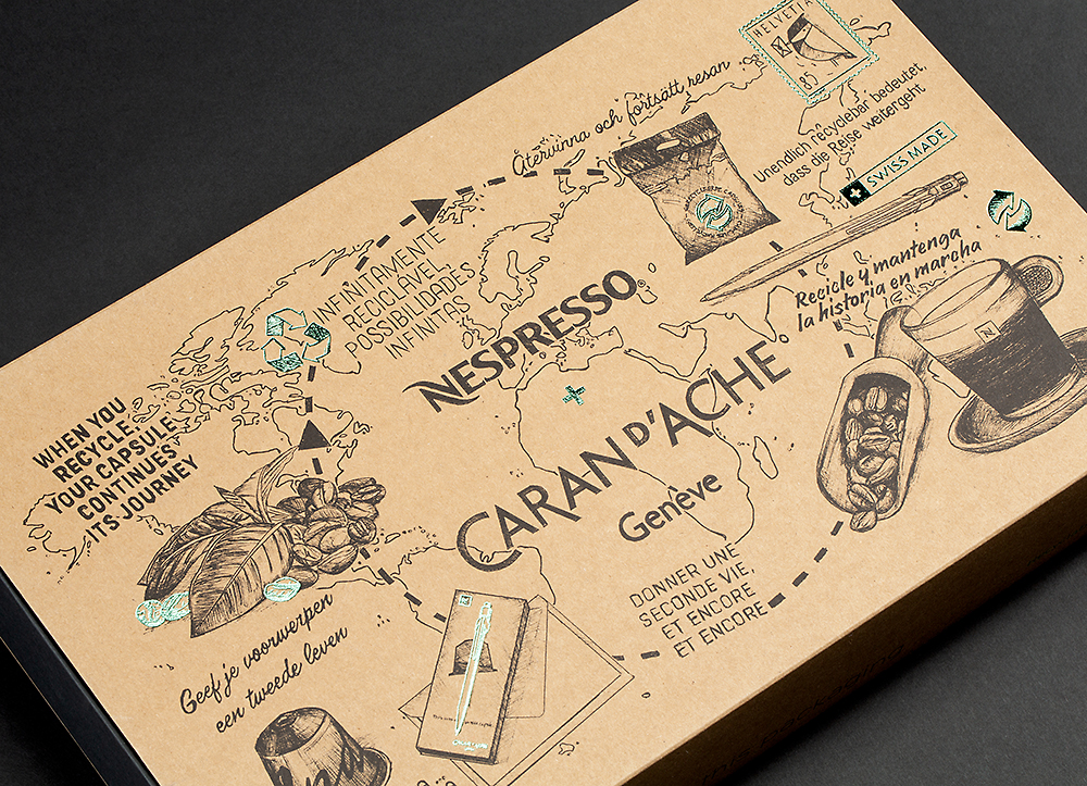 - NESPRESSOCaran D'Ache (2nd Edition)BOXES