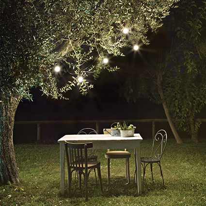 OUTDOOR LIGHTING - Light up your garden during the long summer nights
