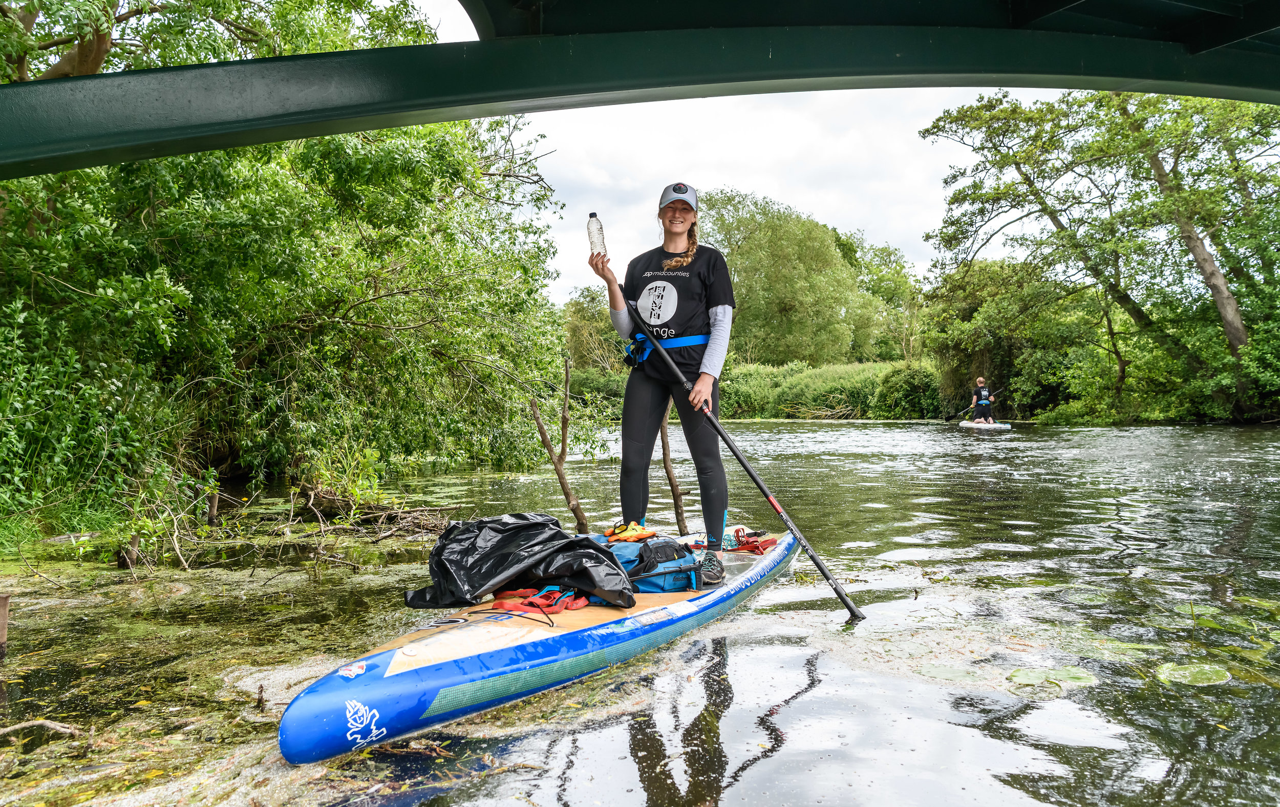 Cal Major SUP River Avon Midcounties Co-op World environment day 2019 One Change