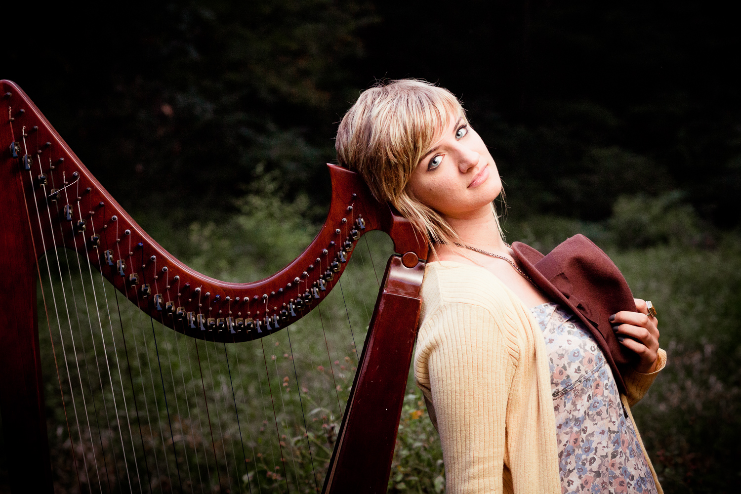 Central New Jersey Photographer Styled Photo Session with Harpists-6.jpg