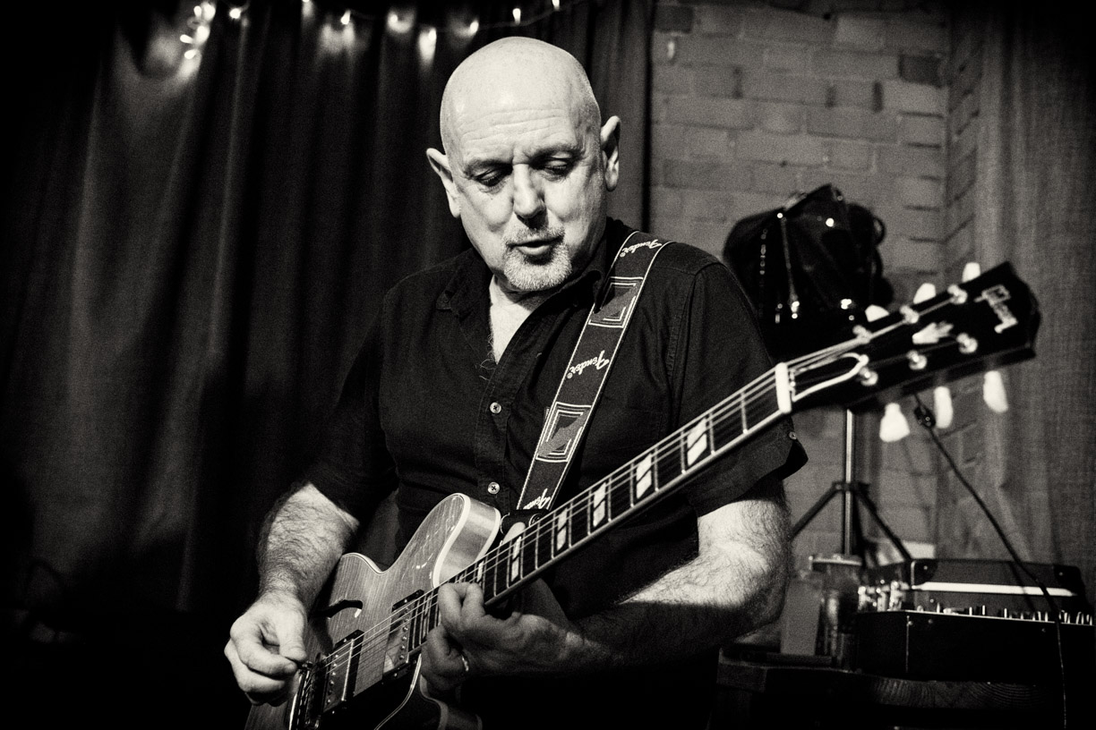 CHRIS BAKER -  Lead guitar    Chris goes back many years playing in bands. His longest standing is the Madness tribute band, Nuttyness where he graced the stages of Vegas. Alongside that, Chris has played extensively with Bristol soul favourites, Tailfeather and also Soulful. Other successful blues ventures include The Freddie Stobart Blues Band and The Bottom Line. Chris has also depped for Bristol bands such as Vehicle and The Black Flamez, a Bristol based reggae band.