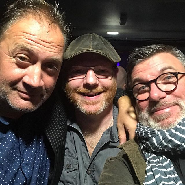 Two of the Uncles meet up with a fellow Fatman. A great gig watching Kev O'Rourke playing with Sari Schorr at the Louisiana. Innes Sibun and Anders Olander boosted the Bristol massive.