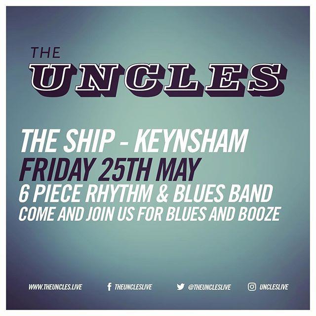 This is happening tonight at The Ship Inn in #keynsham Come and join us. #keynshammusicfestival #bristolblues #blues #uncleslive #rythmandblues #leeoskarharmonicas #bristolmusic