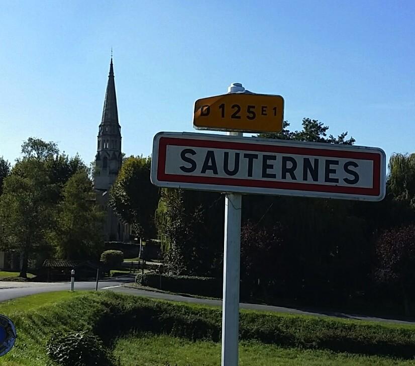Sauternes Sign France