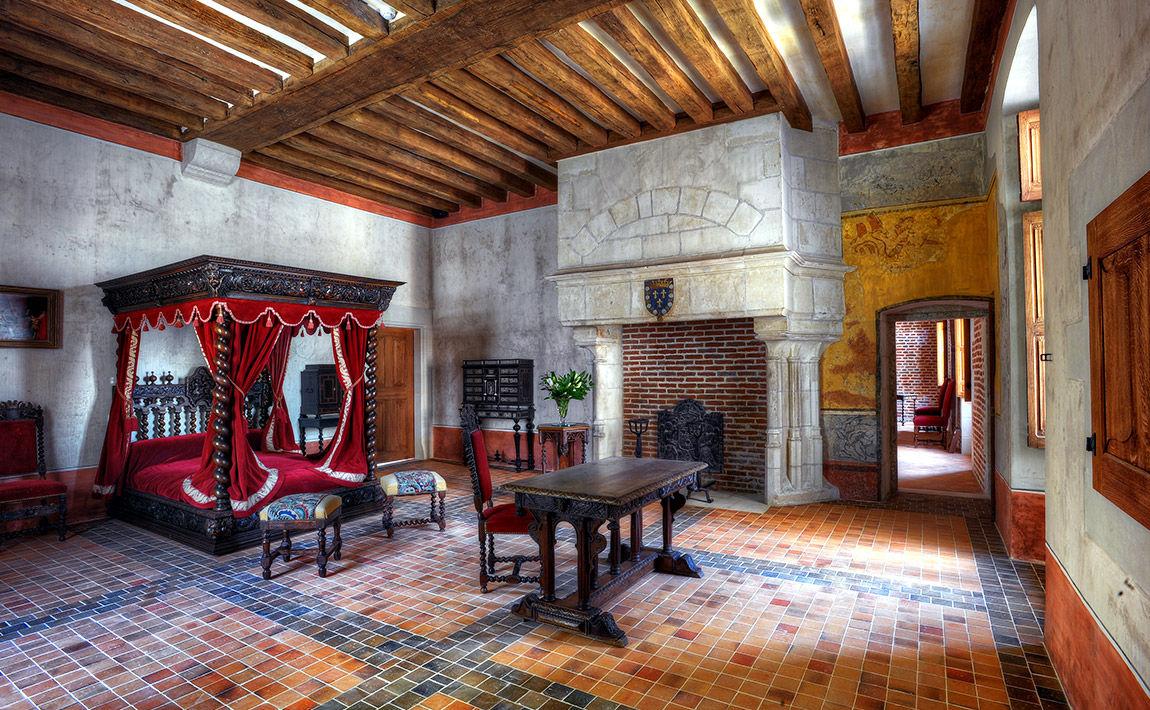 Leonardo Da Vinci's bedroom Amboise, France