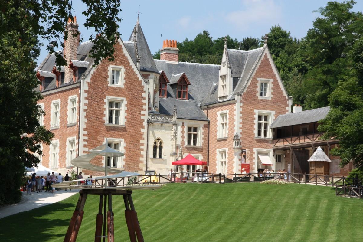 Château du Clos Lucé, Leonardo da Vinci's last residence Amboise, France