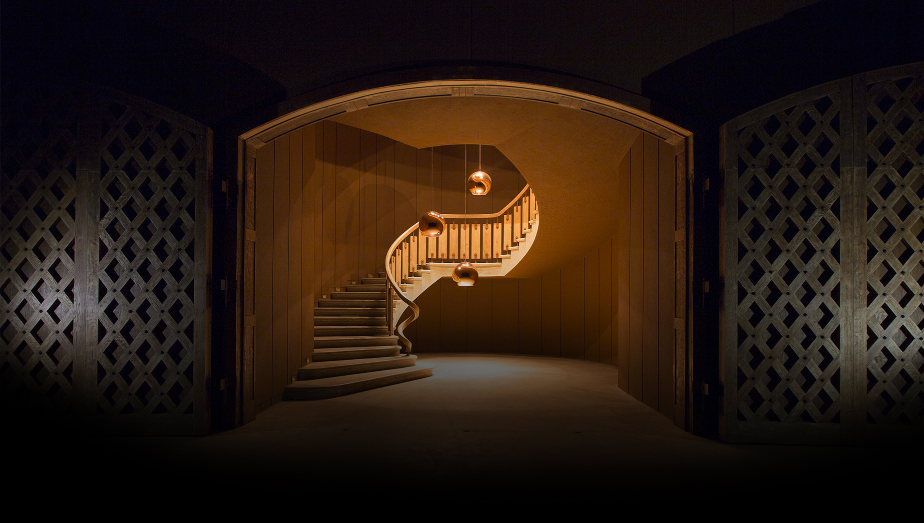 Inside Chateau d'Yquem cellars   Sauternes, Grionde Region of Bordeaux, France