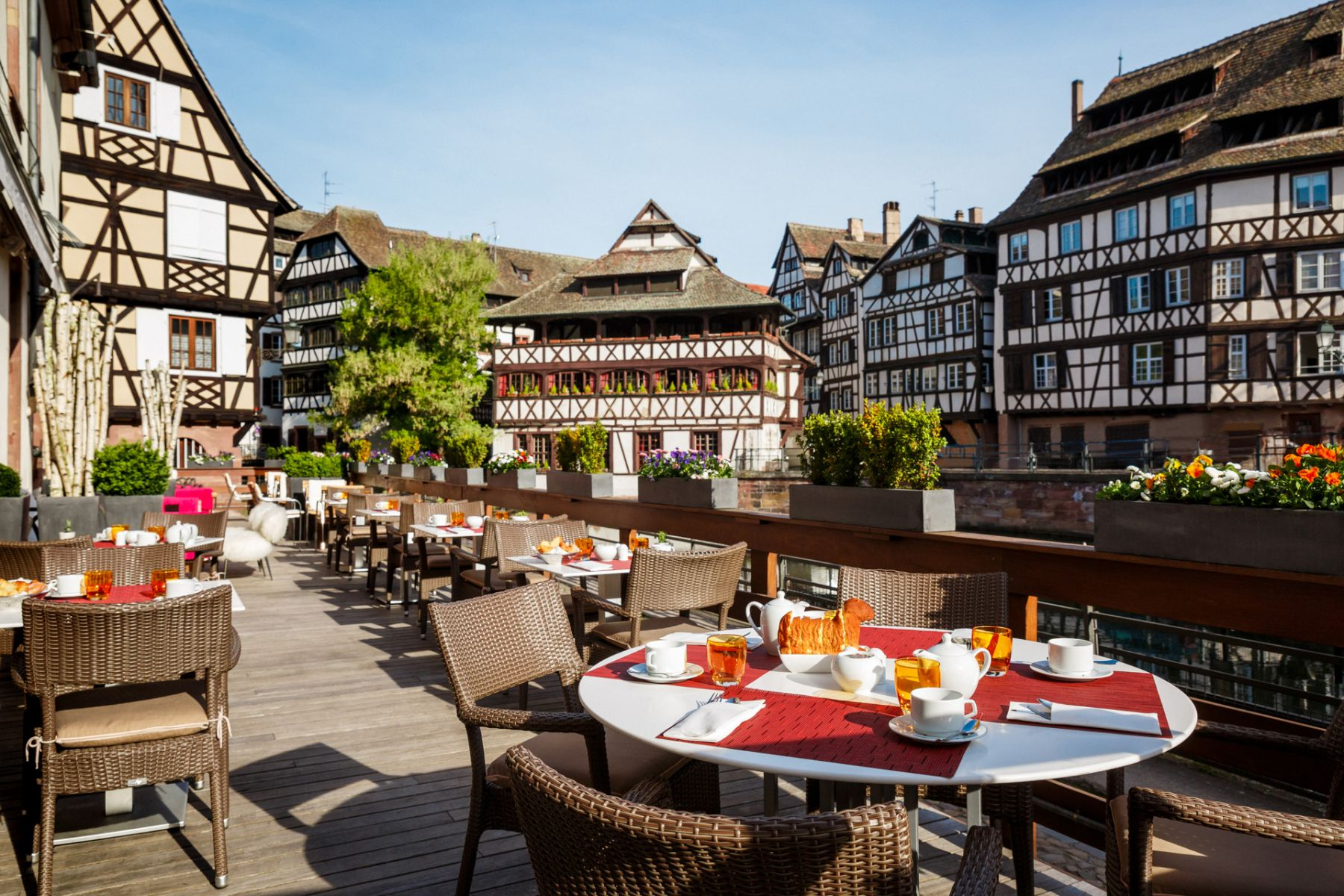 Hotel Regent's terrace