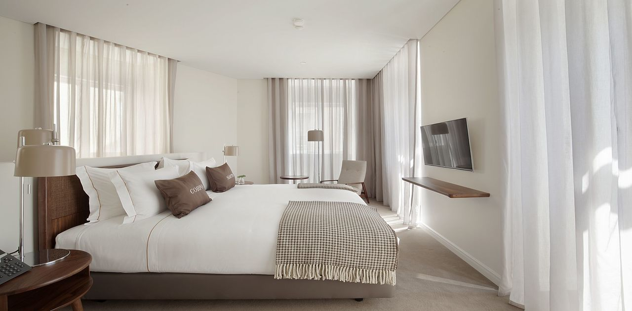 Corpo Santo Hotel Room