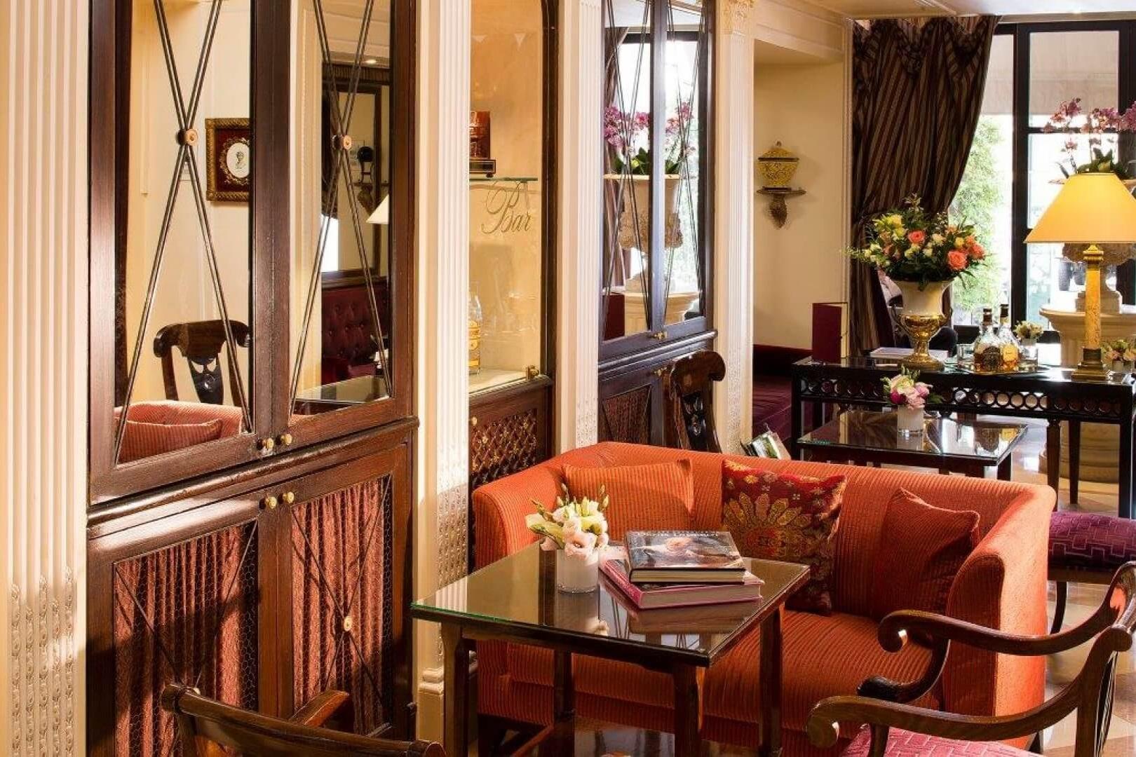 Lounge - Hotel Sainte-Beuve