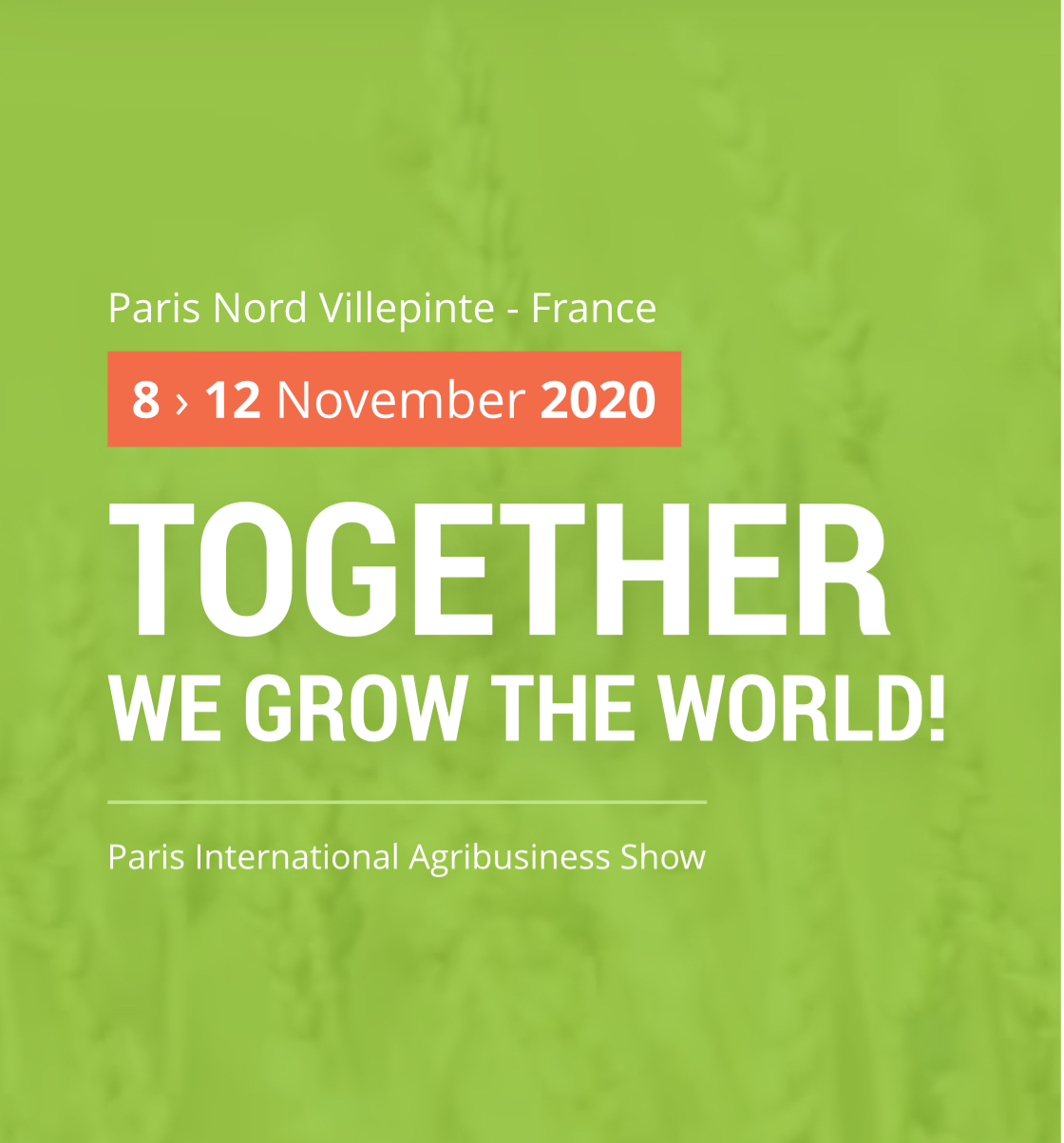 SIMA Paris - PARIS | November 8-12, 2020
