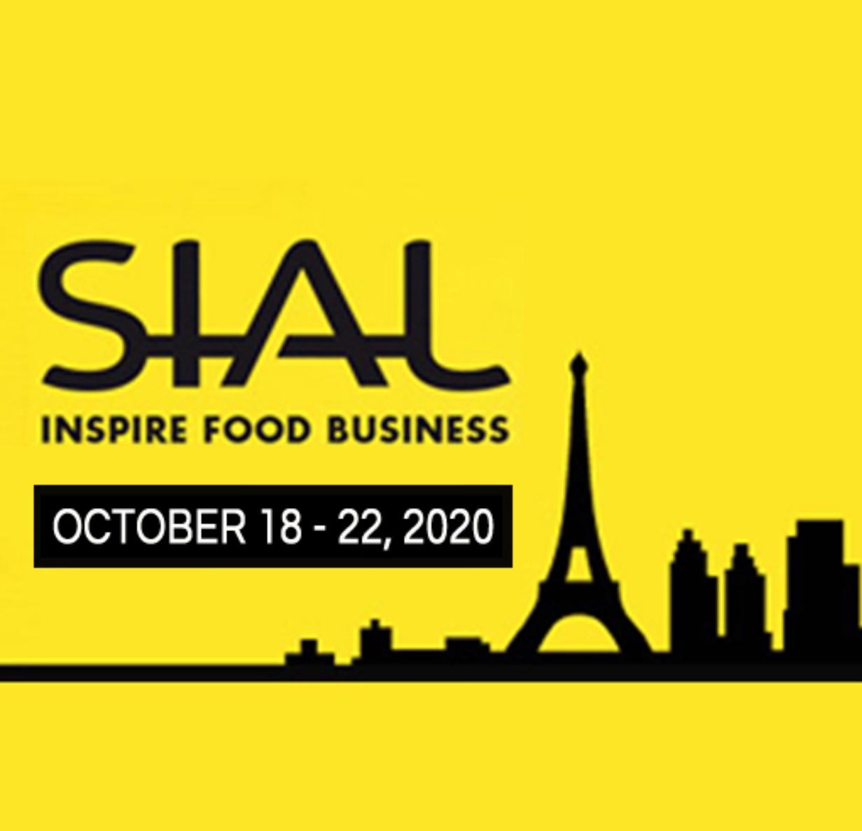 Sial Paris - Paris | October 18-22, 2020