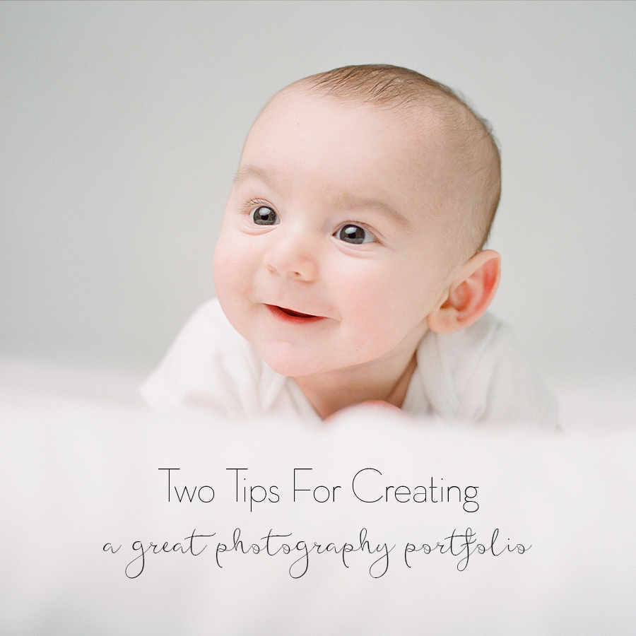 Photography Education Tips for Creating an online portfolio by Sandra Coan