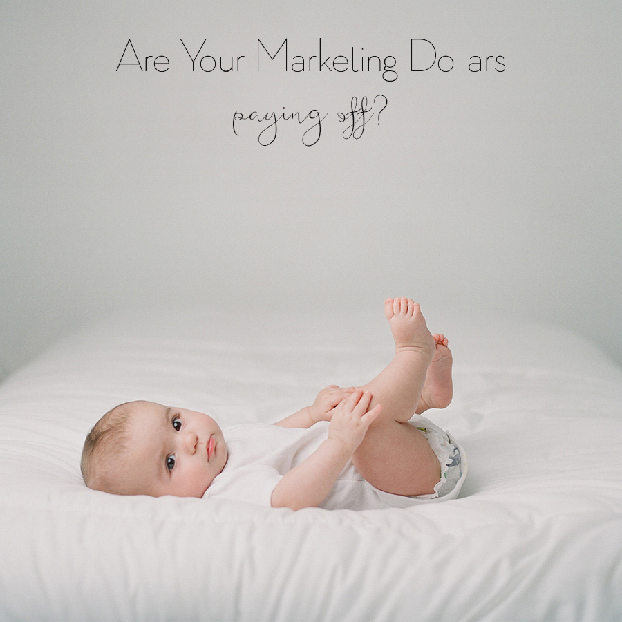 Are you marketing dollars paying off?  Business tips for photographers by Sandra Coan