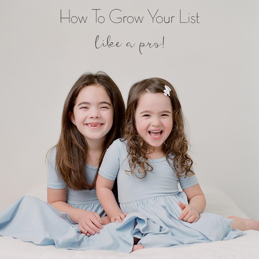 Sandra Coan Education How to grow your list