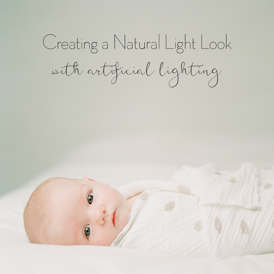 how to create a natural light look with strobes and flash by Sandra Coan
